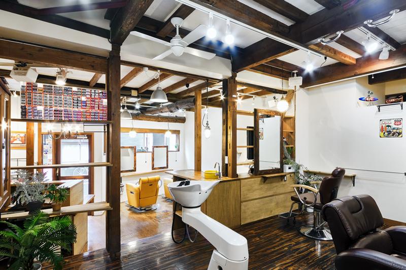 豊島区雑司が谷 理容室 美容室 サロン2